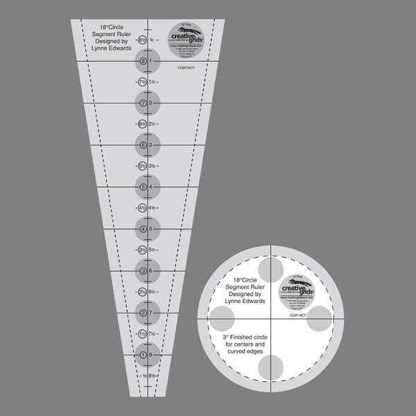 CGR 18 degree Ruler