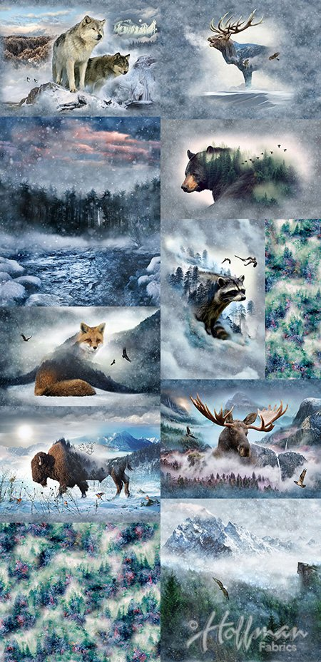 Call of the Wild Large Collage
