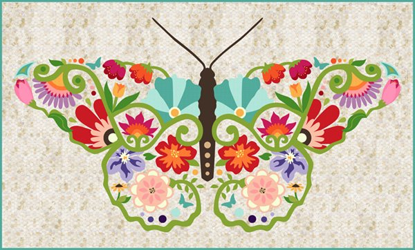 Composed Butterfly Kit Spring