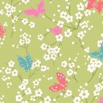 Project Dovetail Butterfly Blossoms Grass