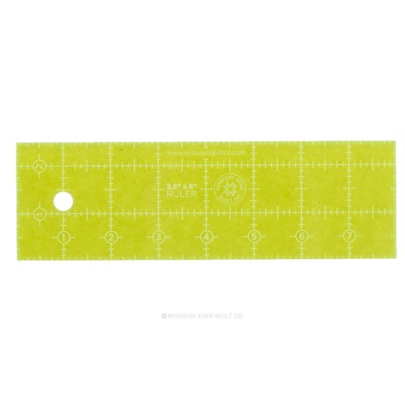 2.5 x 8 MSQC Ruler