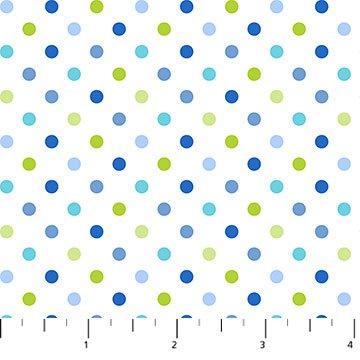 Hello Baby Multi-colored Dots