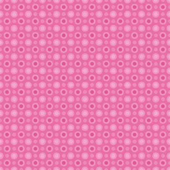 Cuddle Bugs Flannel Monotone Dot Pink