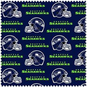 Seahawks NFL - Allover Helmet Print