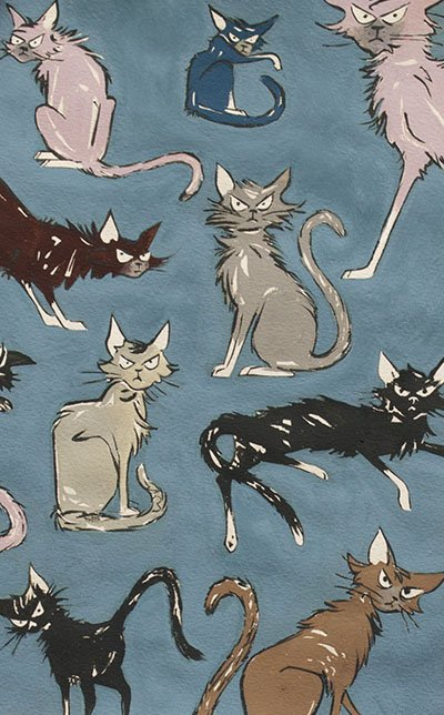 9 Ghastlie Lives Scrawny Cats Dusk