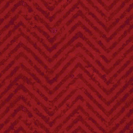 Go Ahead and Wine Red Chevron