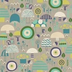 Mori No Tomodachi Kinoko Yama Mushroom Canvas