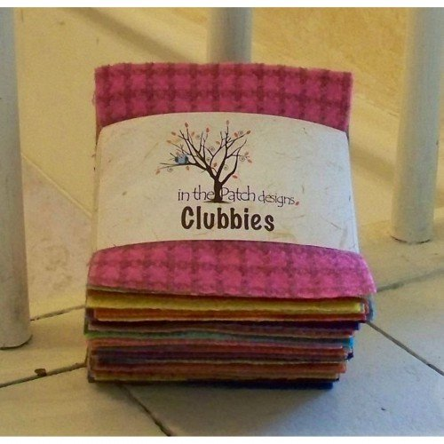 Wooly Charm Clubbies 50ct Light Bright