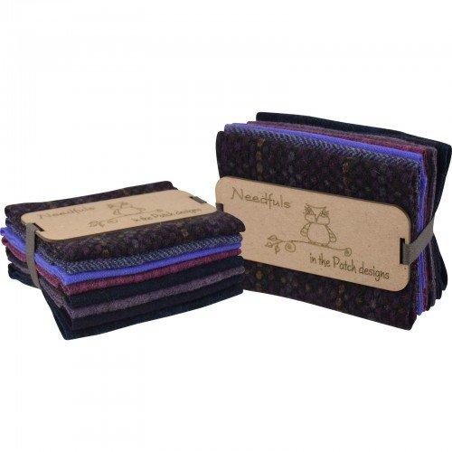 Woolen Needfuls 8ct Purple Rain
