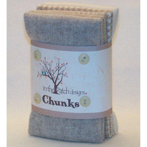 Wool Chunks Tans