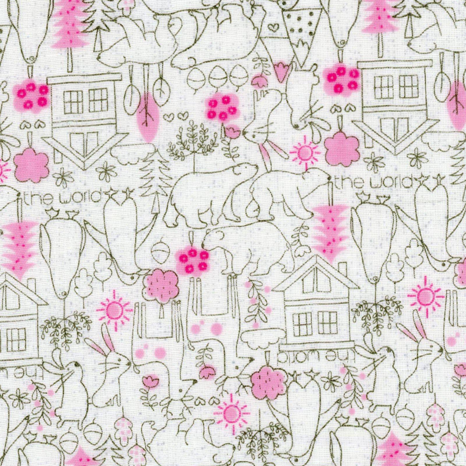 Tiny Little Kids Little Bears Pink DG