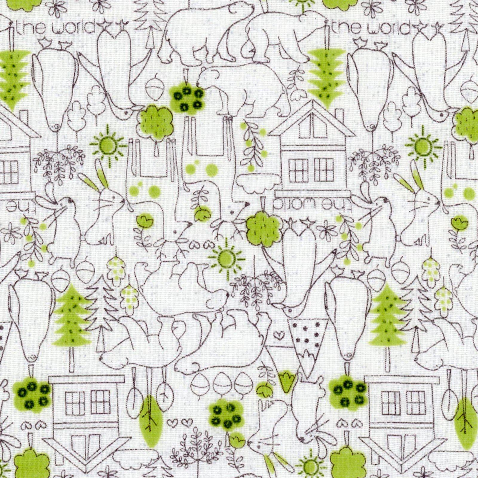 Tiny Little Kids Little Bears Green DG