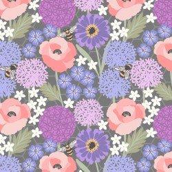 Bee Kind - Allium & Poppies