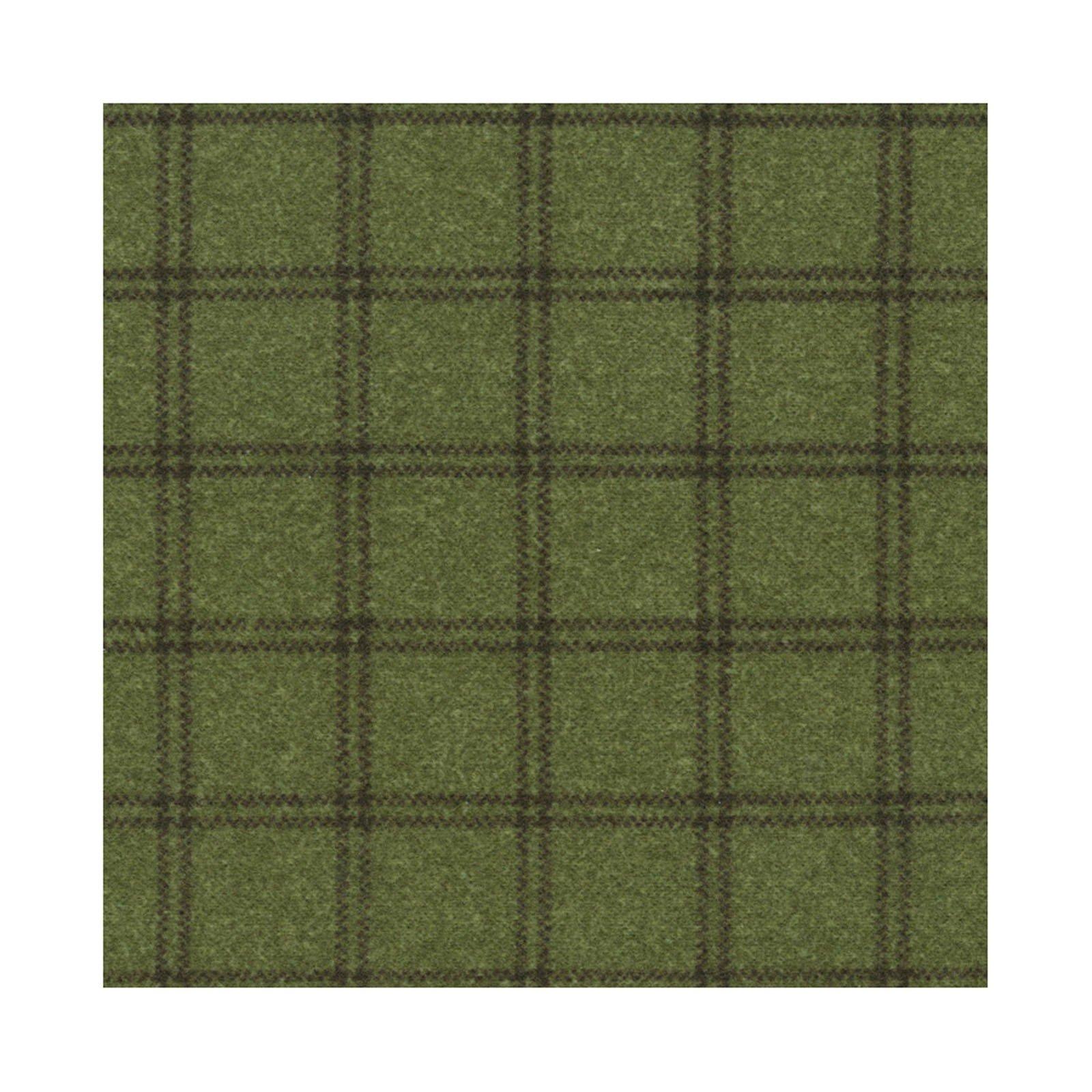 Woolies Plaid Green