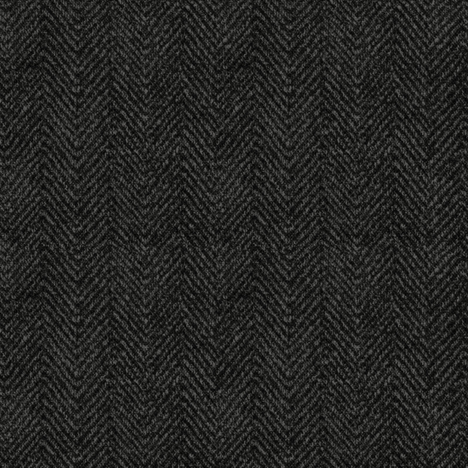 Woolies Black Herringbone