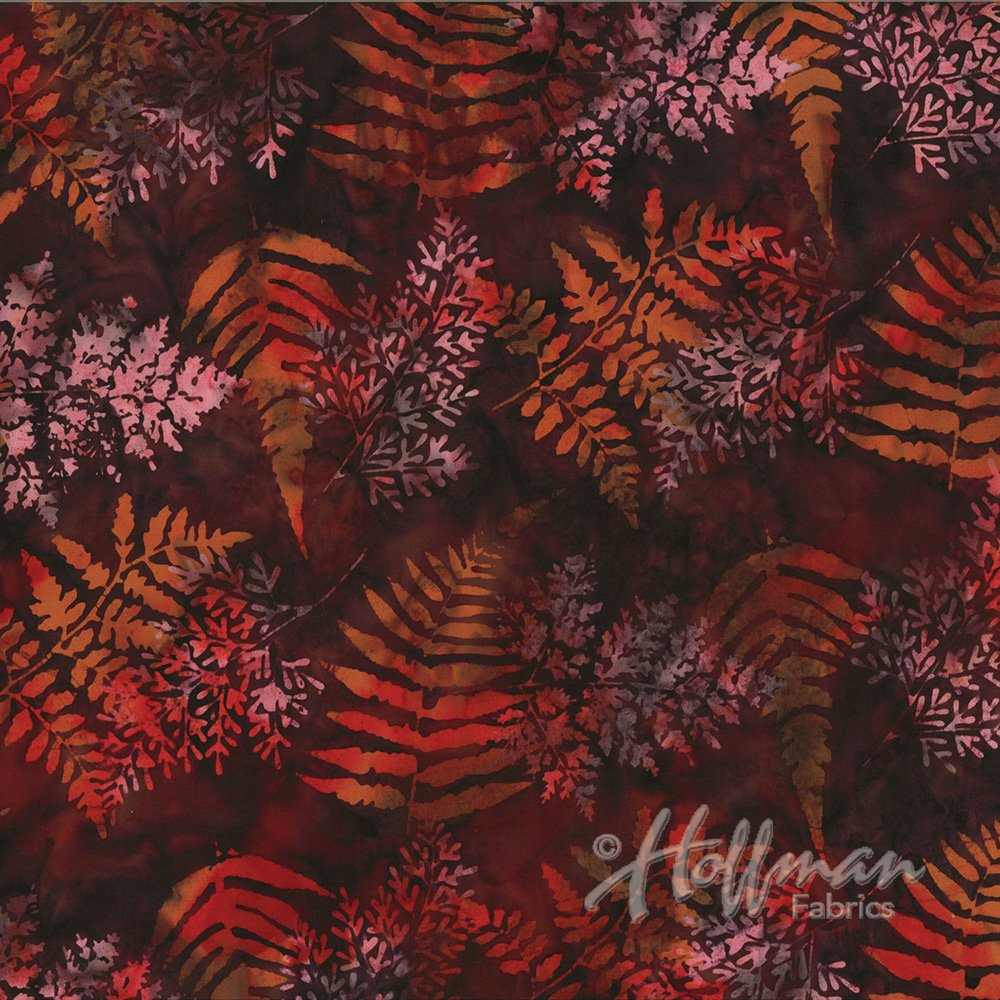 Bali Batik Ferns Nightshade