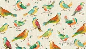 All A Twitter Birds Spring