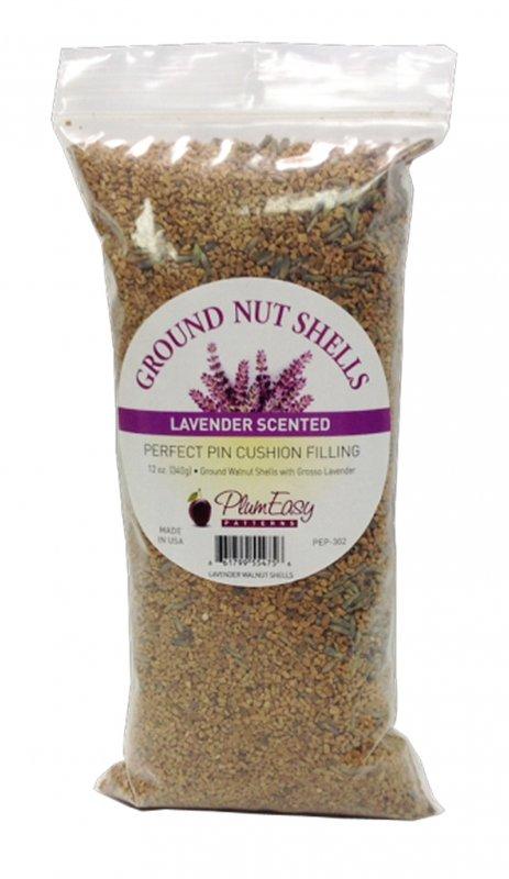 Ground Nut Shells w/ Lavender