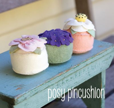 Posy Pincushion Pattern