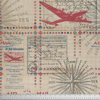 Correspondence In Transit Red