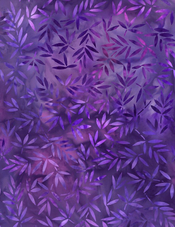 108 Essentials Mottled Leaves Purple