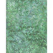 108 Essentials Mottled Leaves Green