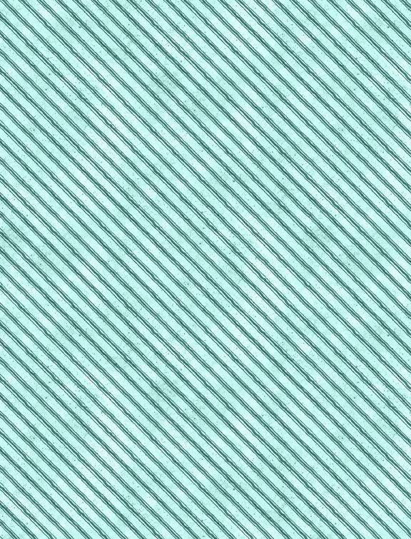 Nature Study Diagonal Stripe Teal