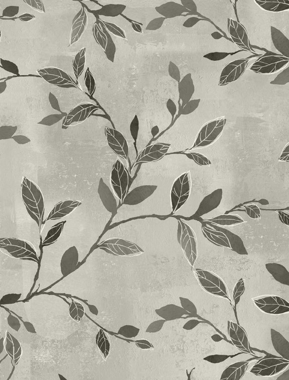 Isabella Branches & Leaves Gray