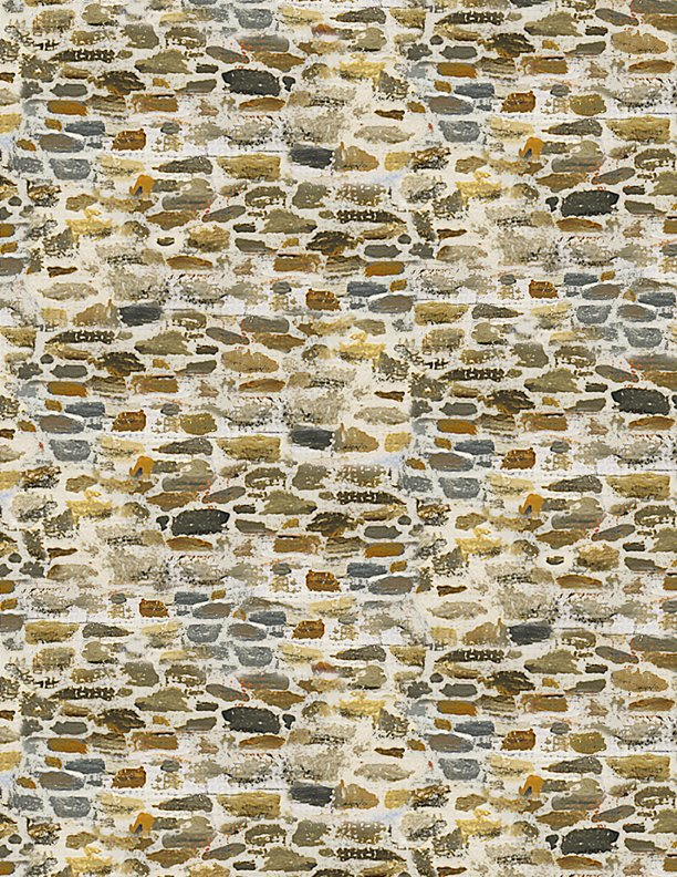 After The Snow Brick Wall Tan