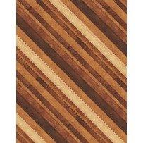 Amber Reflections Diagonal Stripe Brown