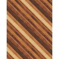 Amber Reflections Diagonal Stripe Brown