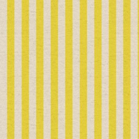 Primavera Cabana Stripe Yellow Canvas
