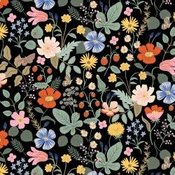 Strawberry Fields Floral Rayon
