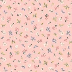 Strawberry Fields Sm Floral Pink