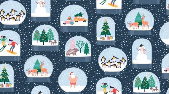 Let it Snow Snow Globes