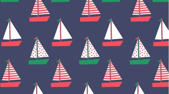 Whale of a Holiday Boats Navy