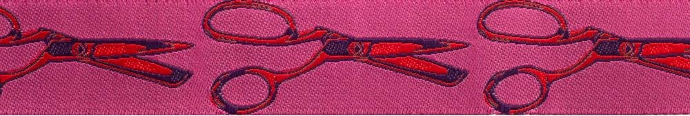 Cut Once Pink 7/8 Ribbon