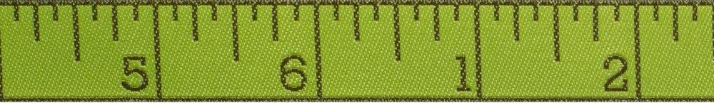 Measure Twice Morning Green 5/8 Ribbon
