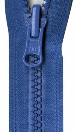 Activewear Separating Zipper 14 inch Rocket Blue