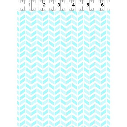 Baby Safari Chevron Aqua