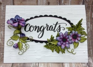 Card That Says Congrats on the Front of it