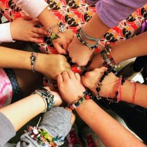 Macrame Bracelet Party
