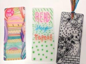 Shrinky Dink Bookmarks