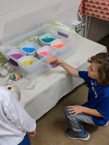 Craft Explorer Party - Sand Art