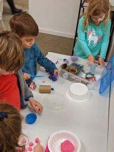 Craft Explorer Party - Playdough