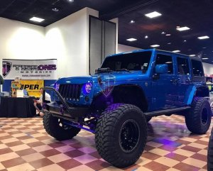 Show pic with Jeep