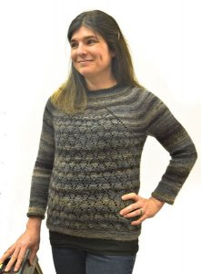 Mary Miller in her Millifiori Light Luxe sweater