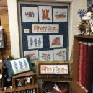 Art by Kathleen McElwaine in Fabric Stores
