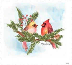 Cardinal art by Kathleen McElwaine