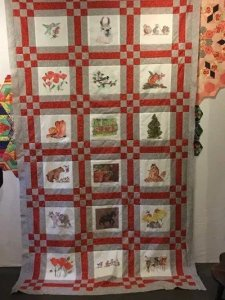 Colorado Quilt art by Kathleen McElwaine